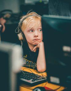 Anxious boy with a weak working memory. www.LBLiteracy.co.za