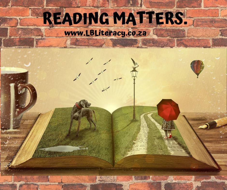 Reading matters. www.LBLiteracy.co.za